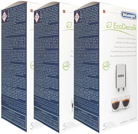 Descalcificador de máquina de café DeLonghi Magnifica (3 botellas ...
