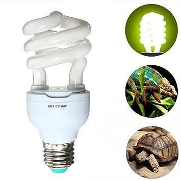 Toomlight 13w E27 Uvb Ampoule Uv Reptile Lampe Uv Vivarium Terrarium