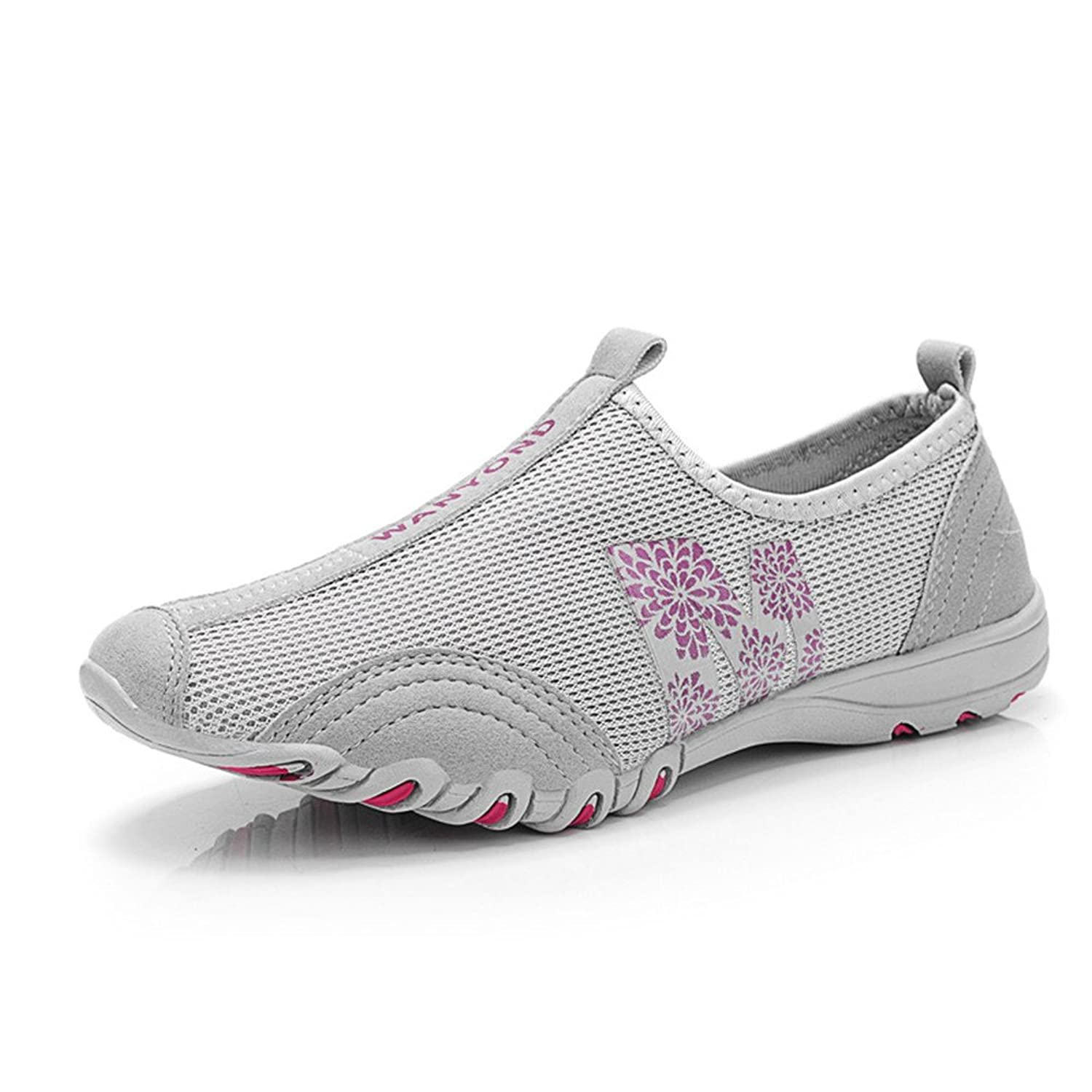 TooTa Breathable Mesh Exercise Athletic Outdoor Slip On Shoes For Women Running Shoes