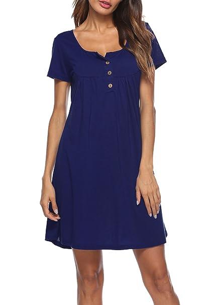 20753b1a7468 MELANSAY Summer Tunics Tops for Women