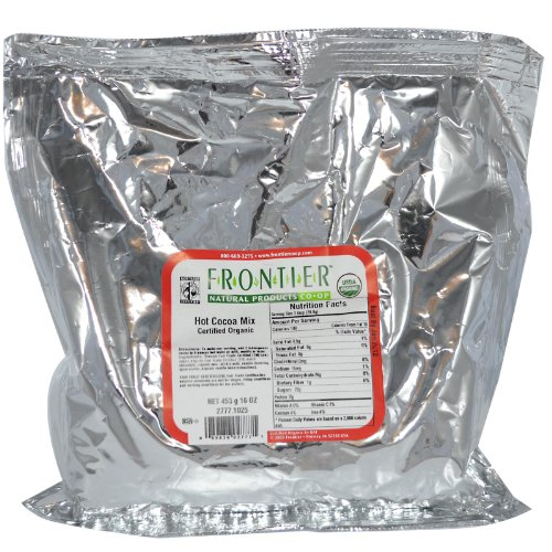 Frontier Natural Products Organic Hot Cocoa Mix -- 16 oz by Frontier