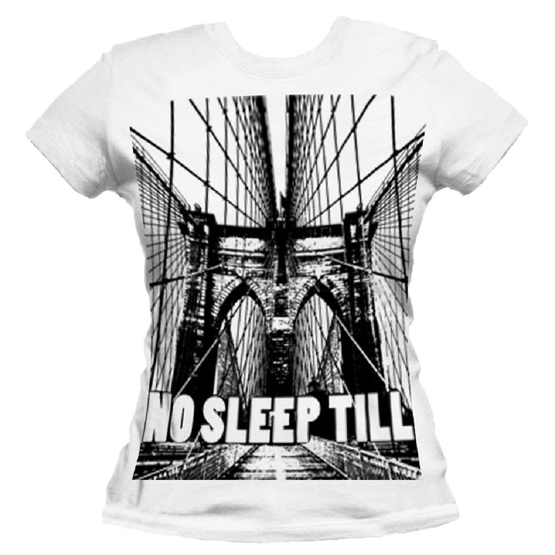 No Sleep Till Brooklyn Women's Cotton T-shirt