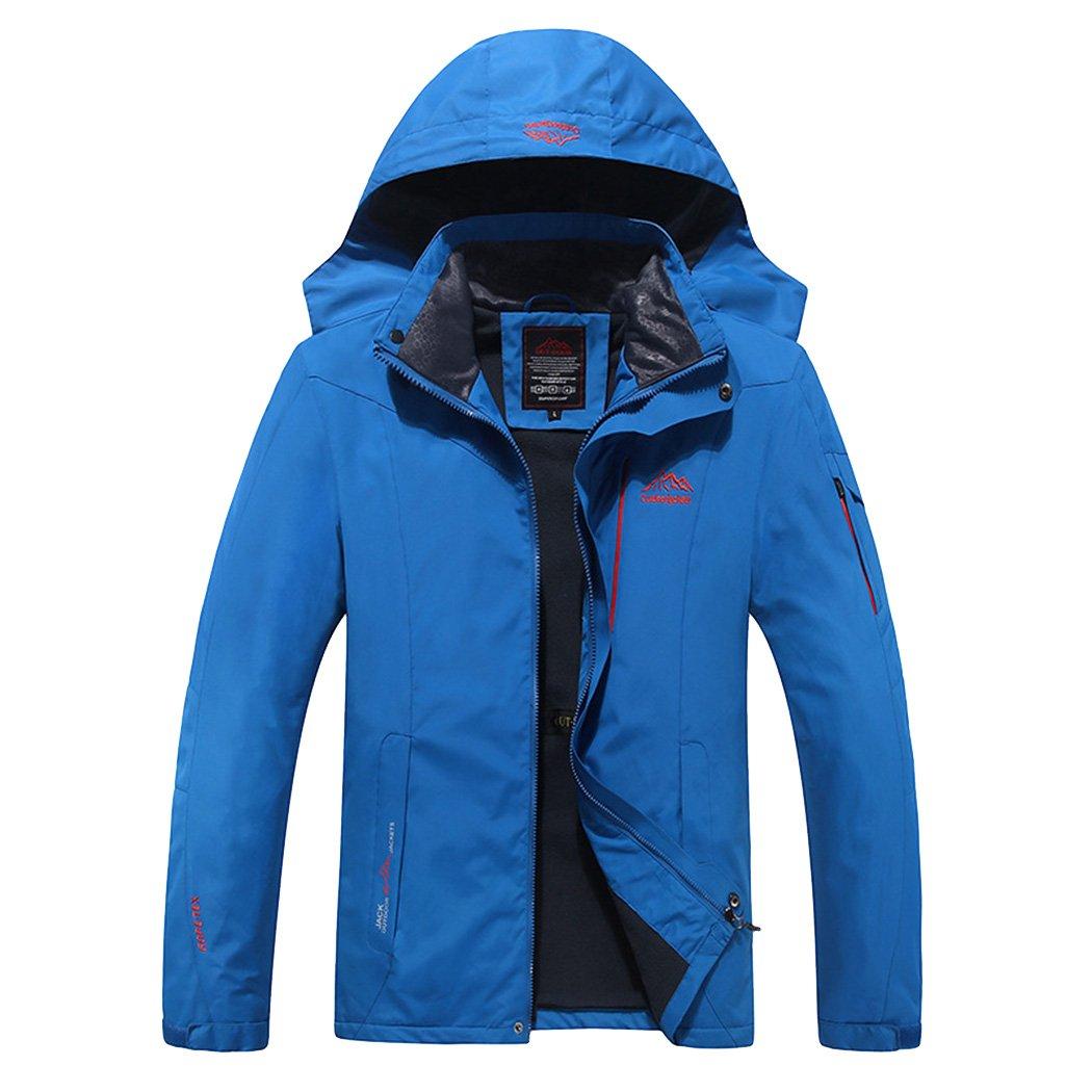 Modern Fantasy Men's Mountain Ski Hooded Windproof Winter Outdoor Jacket 6485551139104