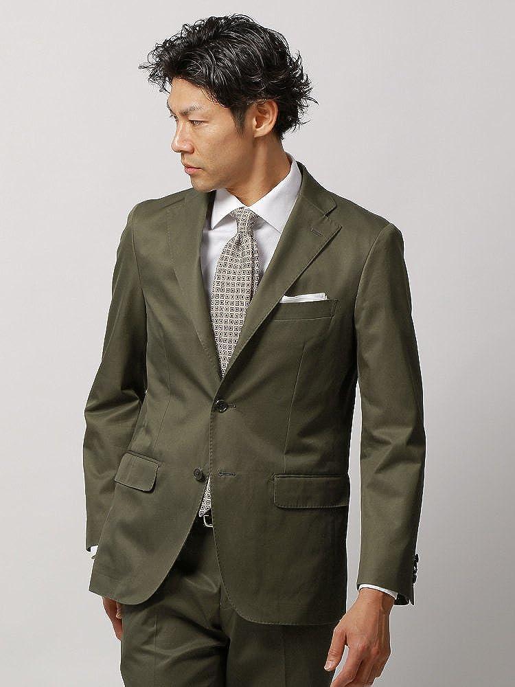 (ザスーツカンパニー) 春夏/blazer's bank.com/JAPAN QUALITY/コットンギャバジャケット カーキ B079NXM69W 175cm6Drop(A体)