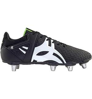 Gilbert Celera V3 8 Stud SG - Crampons de Rugby - Noir Blanc  Amazon ... 4f9b097cff0