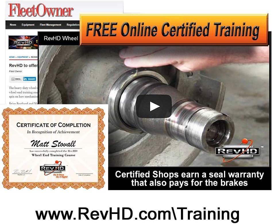 RM-D07 Rev Max Drive Seal Mack Fits: 393-0203, 380022A, 45093