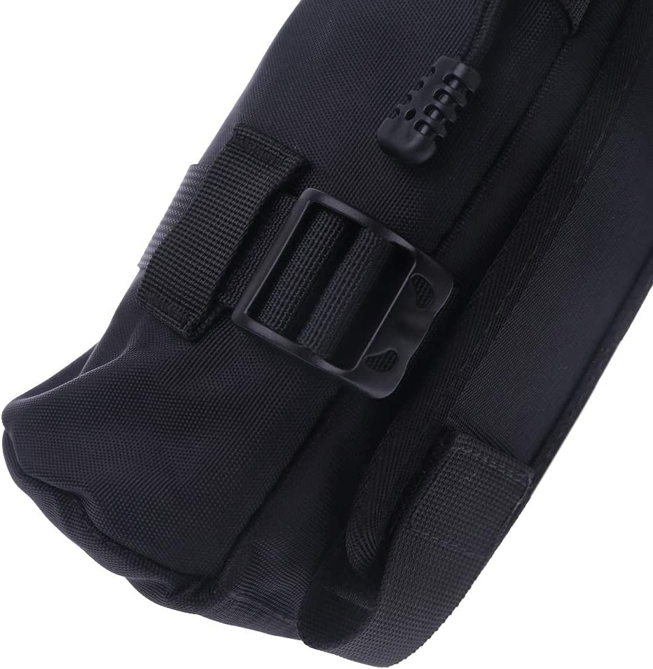 YOUSIKE N20 Padded Shockproof DSLR SLR Camera Lens Protector Carry Pouch Bag Case Black