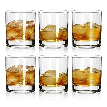 Bavel Rock Style Old Fashion Set Of 6 Whiskey Glasses