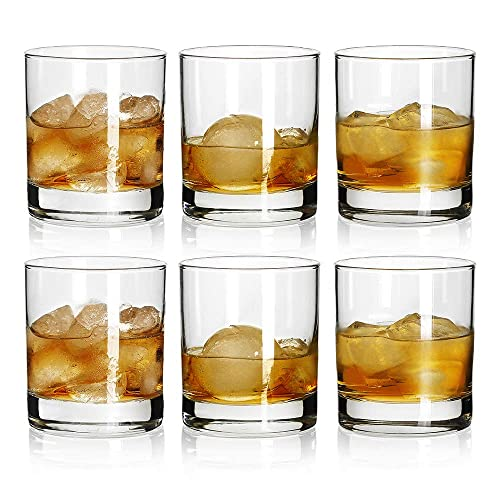 Rock Style Old Fashioned Whiskey Glasses