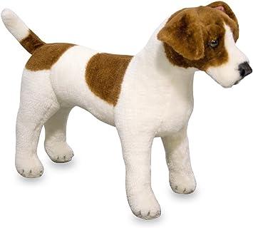 Melissa & Doug Giant Jack Russell Terrier Lifelike Stuffed Animal Dog (over 12 inches tall)