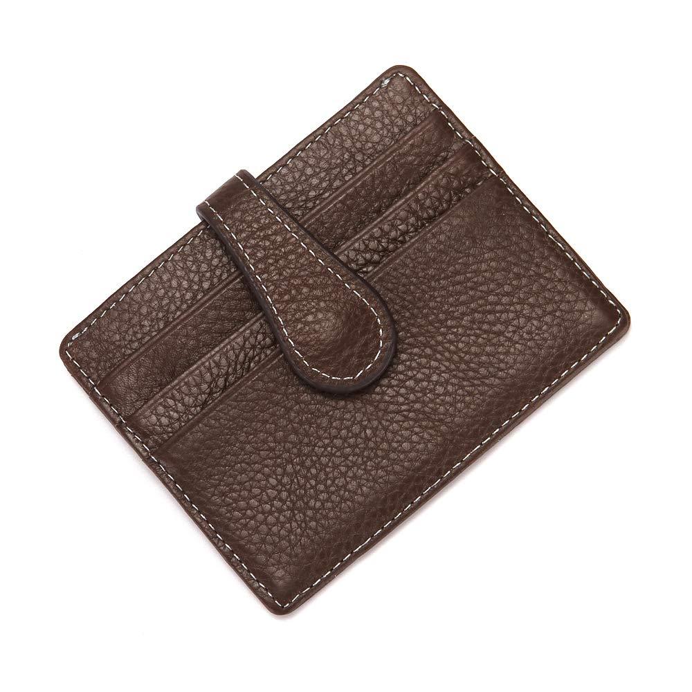 Remikstyt Mens Minimalist Wallet Slim Front Pocket RFID Blocking Wallet Card Holder