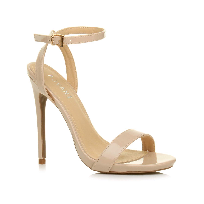 Femmes Haute Talon f/ête /à Peine l/à Boucle lani/ères Sandales Chaussures Pointure