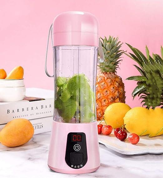 XVCHANGQING Exprimidor de Mini portátil eléctrico jugo frutas ...