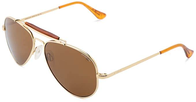 595bc756499a Randolph Sportsman Polarized Aviator, 23K Gold Plated, 57 mm