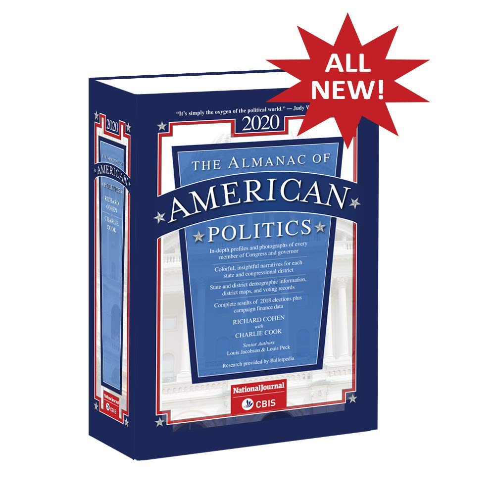 Almanac of American Politics 2020 by Columbia Books. Inc.