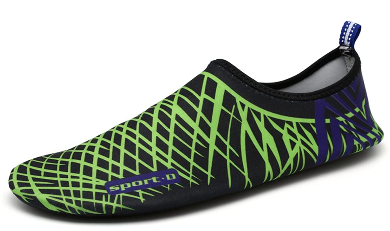 Men Women Barefoot Water Shoes Quick Dry Slip On Aqua Socks For Beach Pool Aerobics