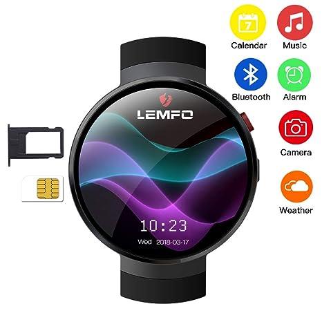 Amazon.com: JASZHAO Smart Watch Android 7.0 LTE 4G Sim 2MP ...