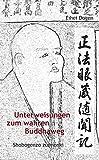 Unterweisungen zum wahren Buddha-Weg. Shobogenzo zuimonki