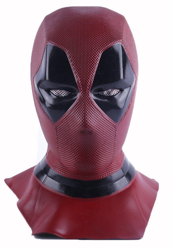 K-Y YK Film Deadpool Toten Perücken Maske Cosplay Halloween COS Helm Tot Cosplay Maske Requisiten Kopfmaske (Deadpool)