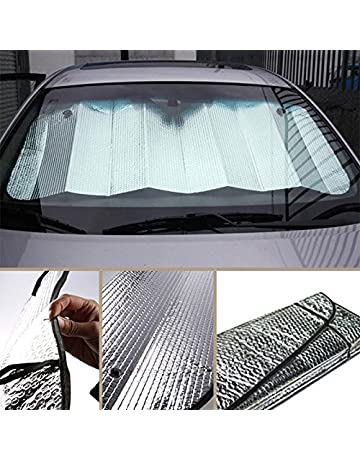Amazon.com  Windshield Sun Shades - Auto Accessories  Sports   Outdoors 0e302a28f4f