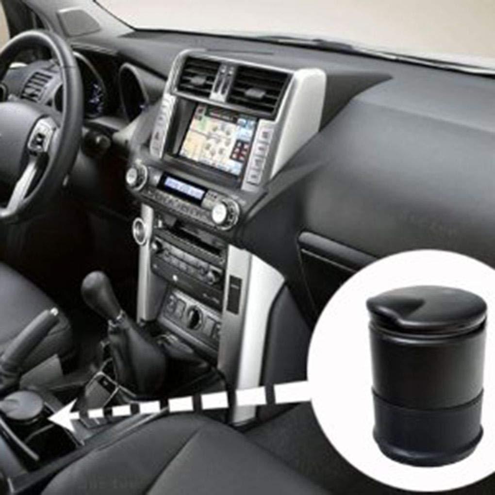 yanana Portable Sigaretta Senza Fumo Tubolare Auto Ash Posacenere Sigaretta Ash Cup Holder Sostituzione