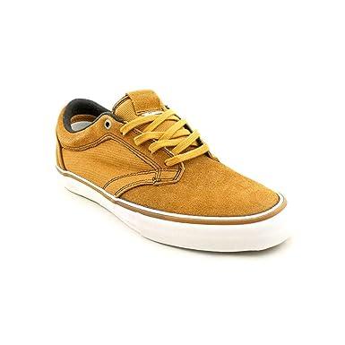 3b4b02ff86a6e0 Amazon.com  Vans Mens Type II Skateboarding Shoes Bone Brown 7.5 ...