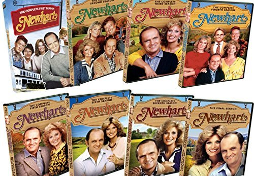 MediaDVD Newhart: The Complete 1980s TV Series Seasons 1-8 DVD by MediaDVD