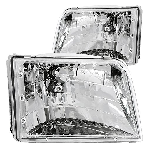 Anzo USA 111036 Ford Ranger Crystal Chrome Headlight Assembly - (Sold in ()