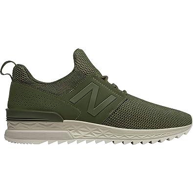 New Balance 574 Sport Lifestyle Zapatillas Hombre Verde: Amazon.es: Zapatos y complementos