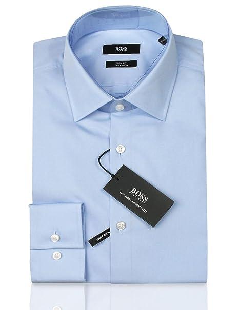 6d65c0690ba Hugo Boss - Camisa Casual - Ajustado - para Hombre  Amazon.es  Ropa y  accesorios