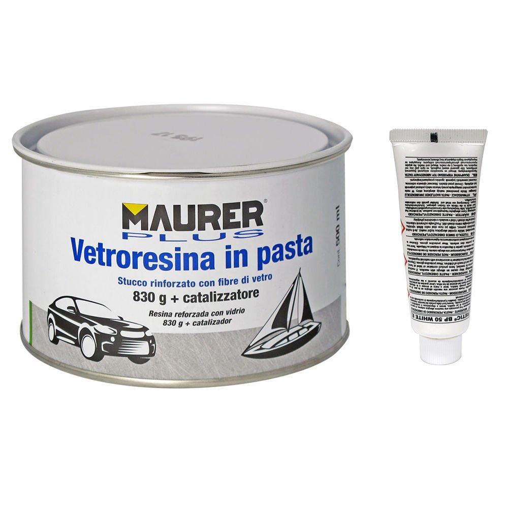 Maurer stucco fibra vetro con indurente)