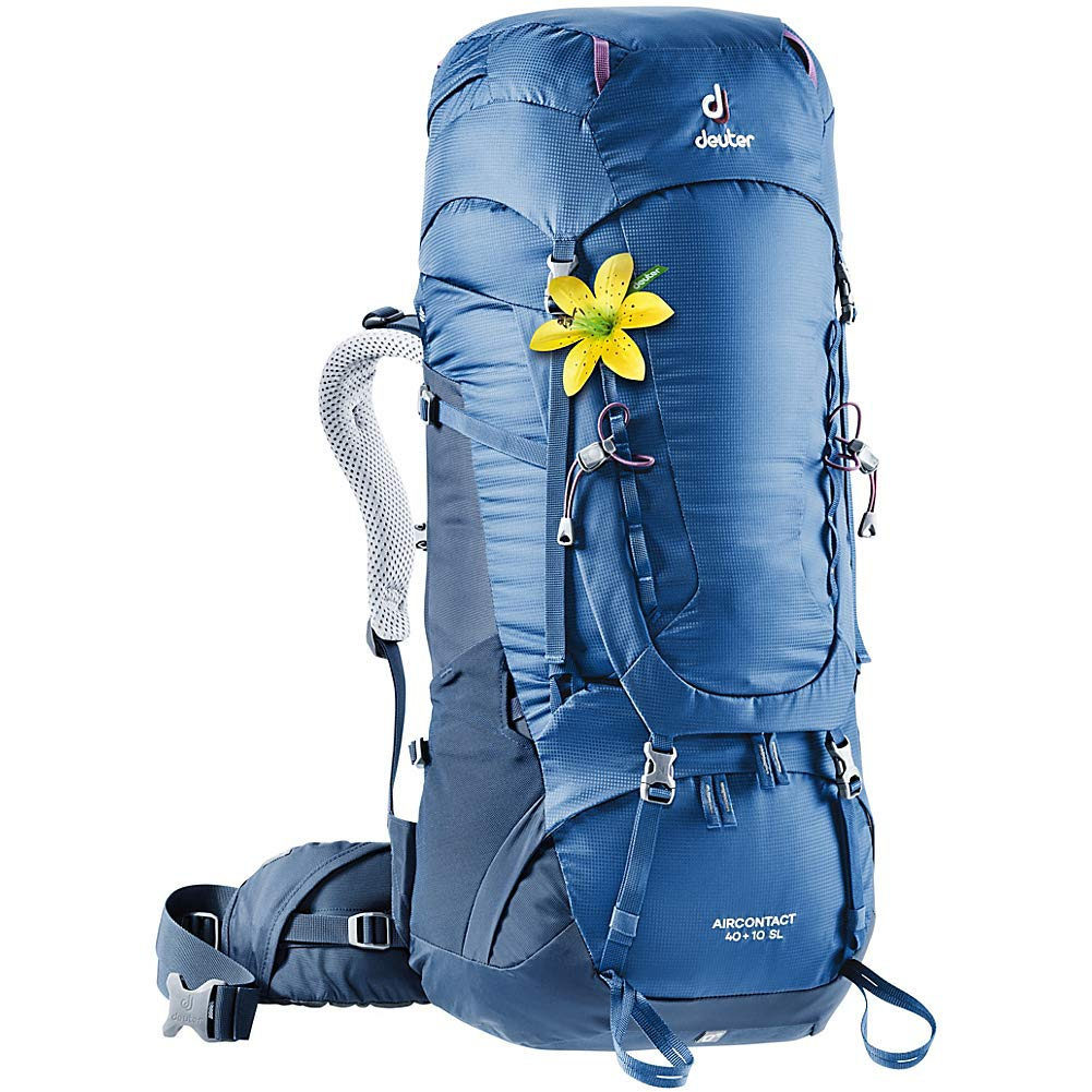 Deuter Aircontact 40 + 10 SL バックパックパック B07P145PS8 Steel Midnight One Size