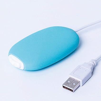 Chauffe Main USB Portable PROKTH Chaufferette USB pour Les Femmes et Les Hommes en Hiver 2 Niveaux de Chauffage 55-60℃//65-70℃