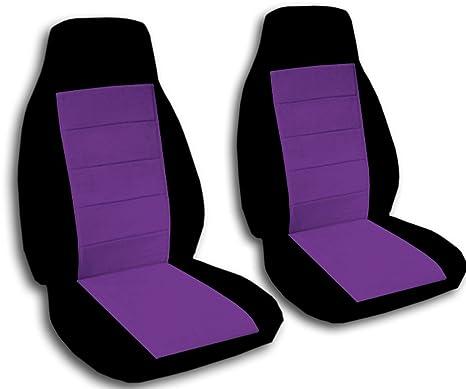 Amazon.com: Fundas para asientos de coche en dos tonos ...
