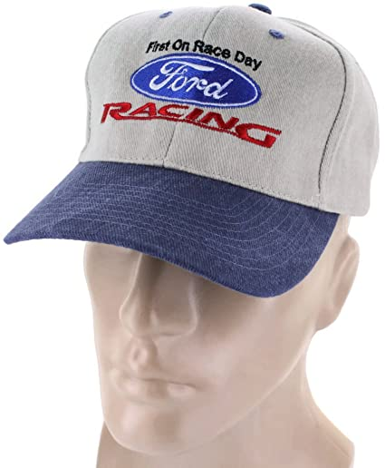 Amazon.com  DanteGTS Ford Racing Blue Baseball Cap Trucker Hat Snapback  Mustang F150 Raptor 4x4 F250  Automotive 0a4b5a00c7b