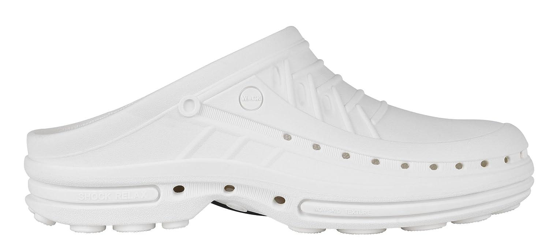 Clog - B005F2SV18 Chaussure professionnelle chocs WOCK Chaussure - Stérilisable ; Antistatique ; Antidérapante ; Absorption des chocs Blanc/Blanc e97932e - automatisms.space