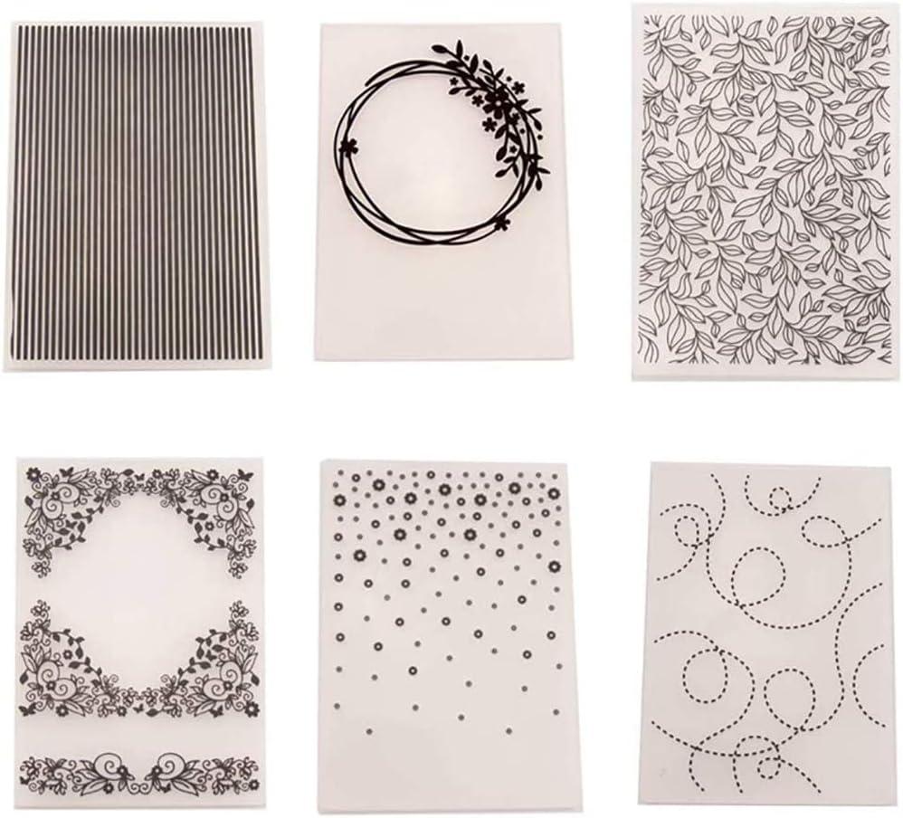 Flags Celebration  DIY Plastic Embossing Folders for Scrapbooking Card Making Paper Crafting