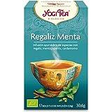 Yogi Tea Infusión de Hierbas Regaliz Menta - 17 bolsitas - [confezione da 3]
