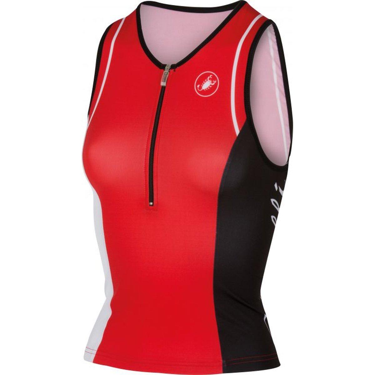 (Large, Core Women's Red) - Castelli Women's Tri Core Tri Singlet B01C4IIGOM, ハサママチ:e78e9812 --- capela.dominiotemporario.com