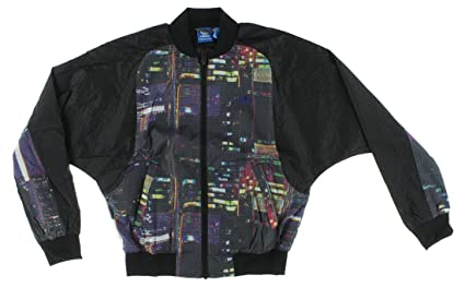 ac7a287ad040 Image Unavailable. Image not available for. Color  Adidas Women s S19951 Tokyo  Printed Superstar Track Jacket ...