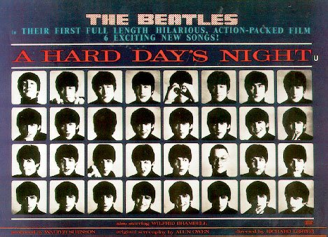 A Hard Day's Night - Movie Poster: The Beatles (Size: 40'' x 27'')