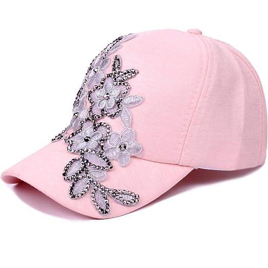 Llgbqm Gorra de béisbol Moda para Mujer Sombreros de béisbol Forma ...