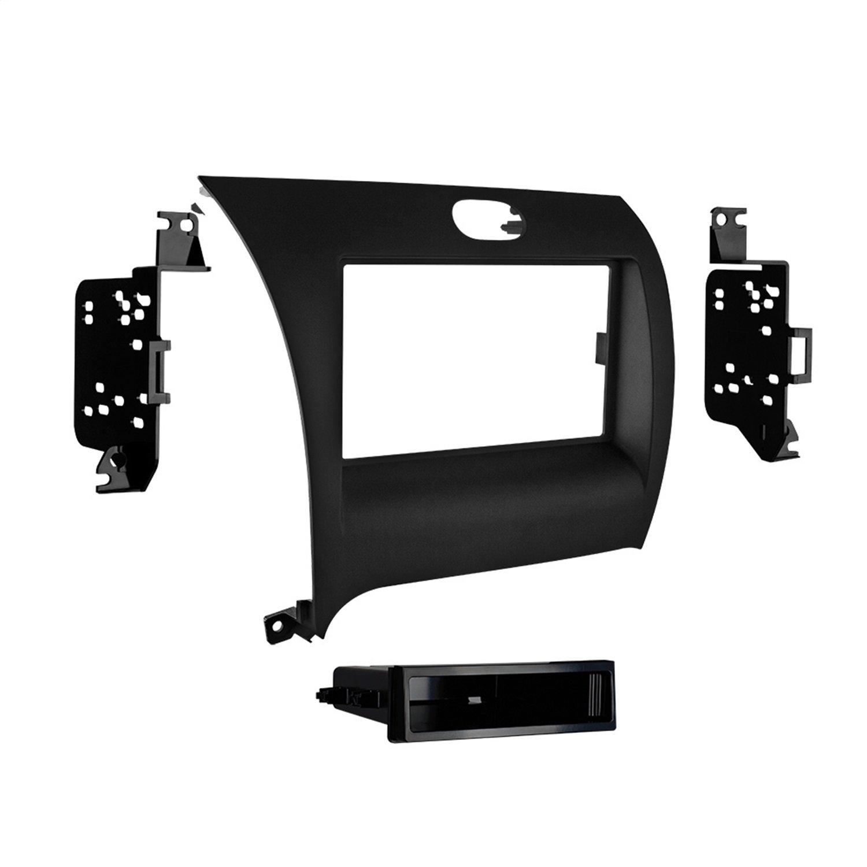 Metra 99-7356B Single DIN Installation Dash Kit for Kia Forte (Black)