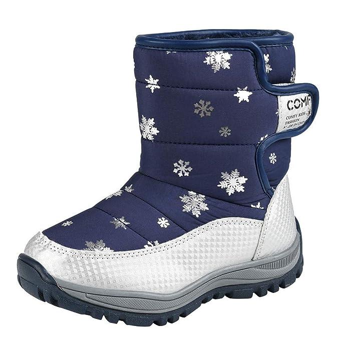 ZODOF Botas de Nieve para Mujer Botas Altas de Invierno para Mujer Botas de Nieve cómodas y cálidas Botas de caña Alta de Invierno cálidas: Amazon.es: Ropa ...