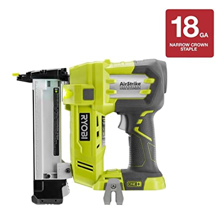 Ryobi P360 18-Volt Airstrike Crown Stapler without Battery and Charger