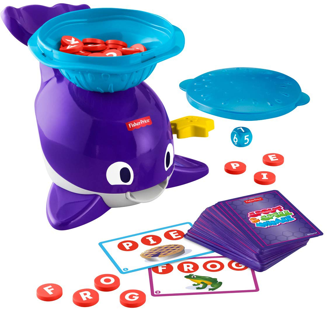 Fisher-Price Spout /& Spell Whale