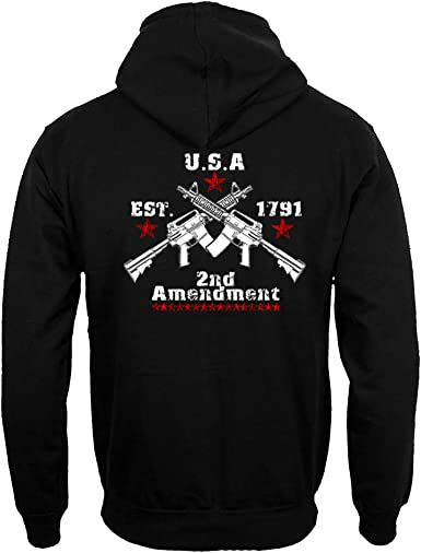 AR-15 Rifle Sweatshirt Right to Bear Arms 2nd Amendment Gun Rights Sweater