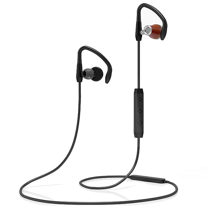 Auriculares de tapón Bluetooth inalámbricos Symphonized NRG S con Aislamiento de Ruido | Auriculares Auriculares con micrófono y Control de Volumen (Negro): ...