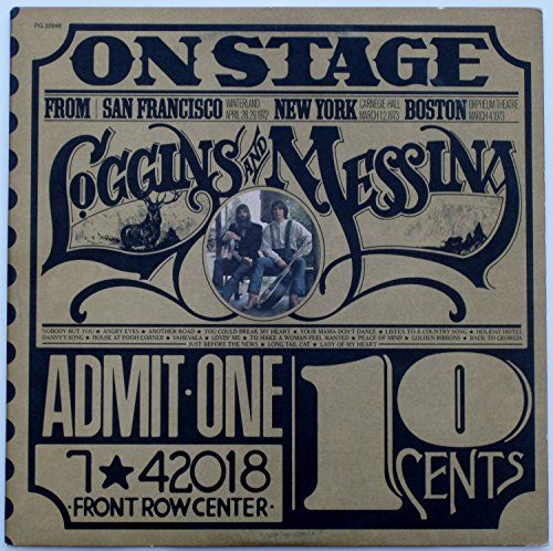Loggins and Messina: On Stage by Columbia PG 32848