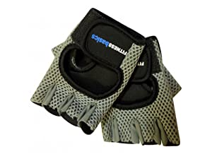 Fit Basics Mens Fitness Workout Gloves(Small)
